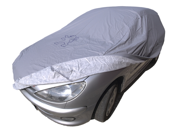 personalised car cover for Peugeot 206