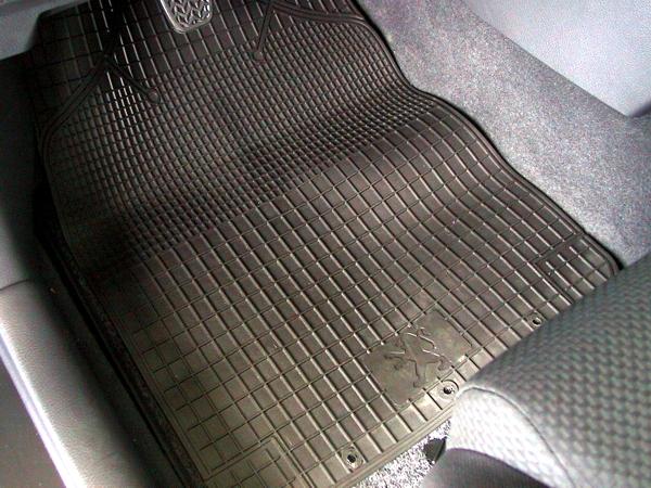 personalised rubber carpet